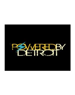 Powered By Detroit Sticker