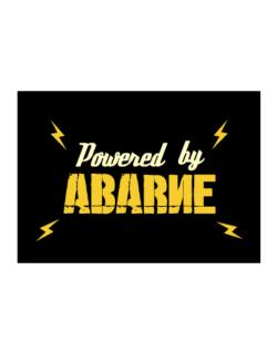 Powered By Abarne Sticker