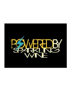 Powered By Sparkling Wine Sticker