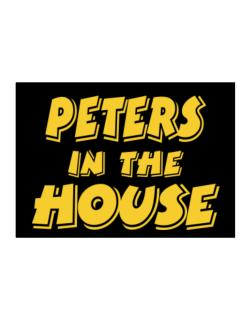 Peters In The House Sticker