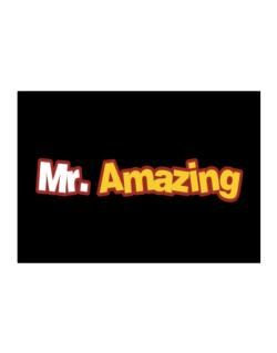 Mr. Amazing Sticker