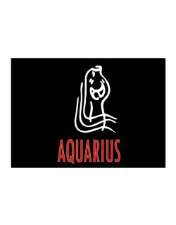 Aquarius - Cartoon Sticker