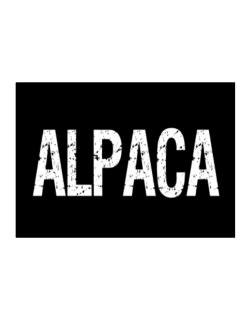 Alpaca - Vintage Sticker