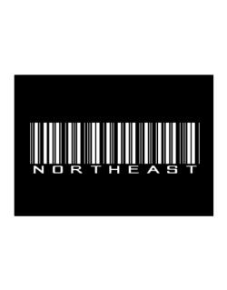 Northeast Barcode Sticker