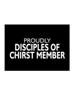 Proudly Disciples Of Chirst Member  Sticker