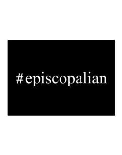 #Episcopalian Hashtag Sticker