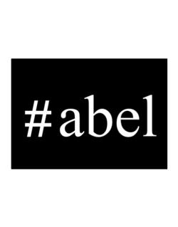 #Abel - Hashtag Sticker