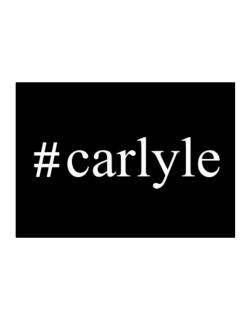 #Carlyle - Hashtag Sticker