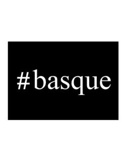 #Basque - Hashtag Sticker