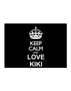 Keep calm and love Kiki Sticker
