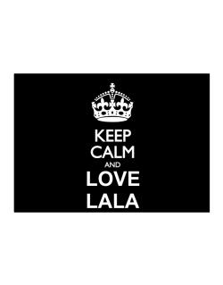 Keep calm and love Lala Sticker