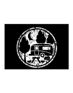 Travel trailer camping Sticker