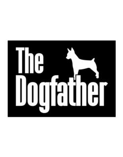 The dogfather Rat Terrier Sticker
