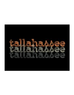 Tallahassee repeat retro Sticker