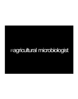 Hashtag Agricultural Microbiologist Sticker
