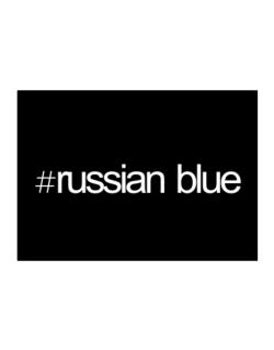 Hashtag Russian Blue Sticker