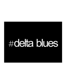 Hashtag Delta Blues Sticker
