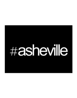 Hashtag Asheville Sticker