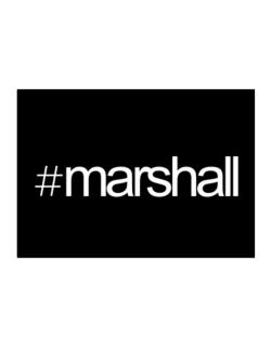 Hashtag Marshall Sticker