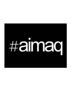 Hashtag Aimaq Sticker