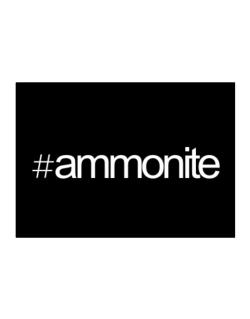 Hashtag Ammonite Sticker
