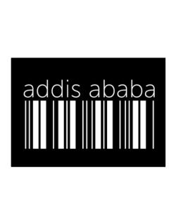 Addis Ababa barcode Sticker