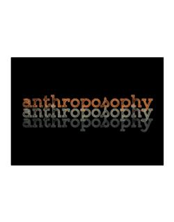 Anthroposophy repeat retro Sticker