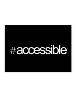Hashtag accessible Sticker