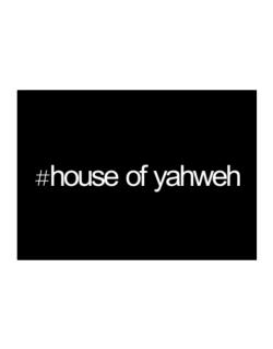 Hashtag House Of Yahweh Sticker