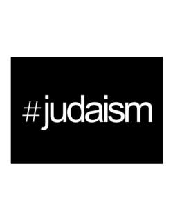 Hashtag Judaism Sticker