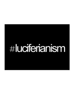 Hashtag Luciferianism Sticker