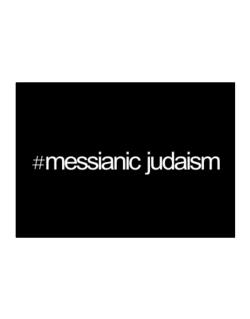 Hashtag Messianic Judaism Sticker