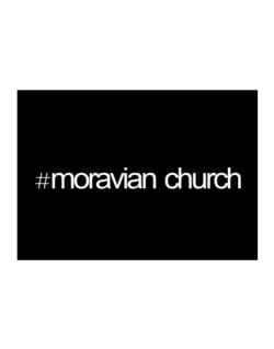 Hashtag Moravian Church Sticker