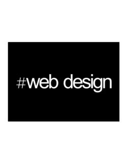 Hashtag Web Design Sticker