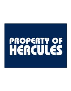 """ Property of Hercules "" Sticker"