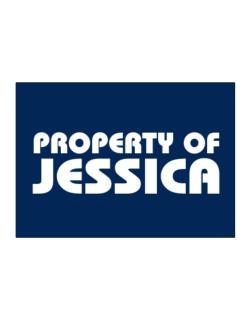 Property Of Jessica Sticker