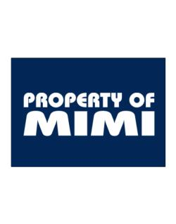 Property Of Mimi Sticker
