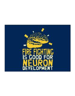 Fire Fighting Is Good For Neuron Development Sticker