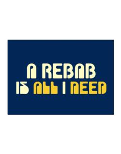 A Rebab Is All I Need Sticker