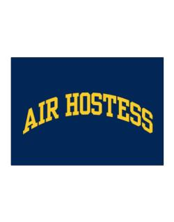 Air Hostess Sticker