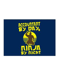 Accountant By Day, Ninja By Night Sticker