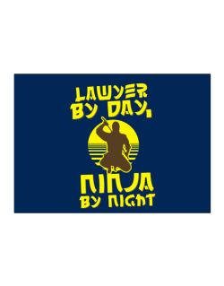 Lawyer By Day, Ninja By Night Sticker