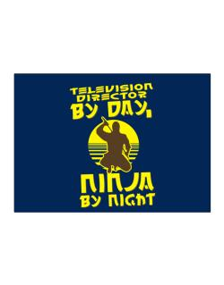 Television Director By Day, Ninja By Night Sticker