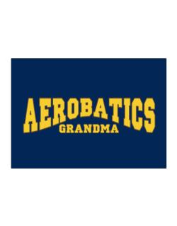 Aerobatics Grandma Sticker