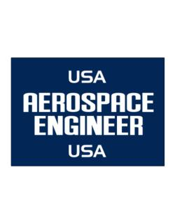 Usa Aerospace Engineer Usa Sticker