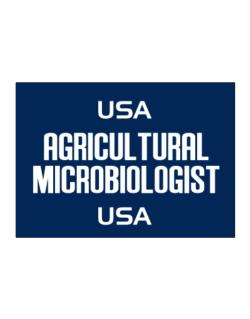 Usa Agricultural Microbiologist Usa Sticker
