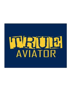 True Aviator Sticker