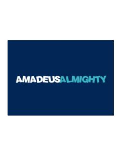 Amadeus Almighty Sticker