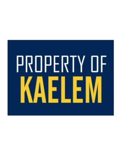 Property Of Kaelem Sticker