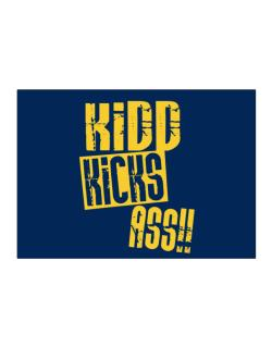 Kidd Kicks Ass!! Sticker